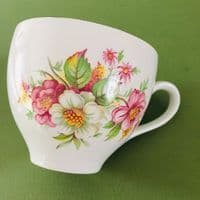 Burleigh Ware - Floral Cup and Saucer Duo